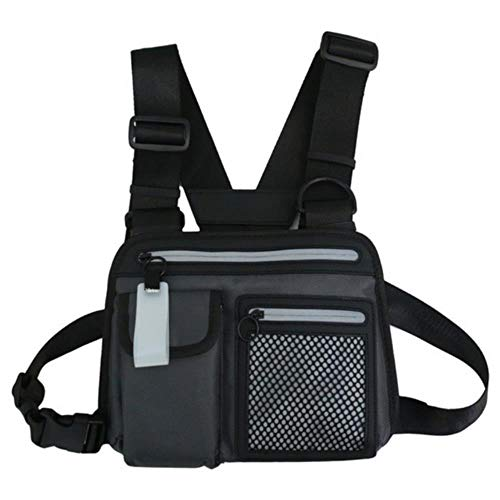 Reflecterend vest van nylon vest, tepel, pouch holster harness walkietalkie radio heuptas China H
