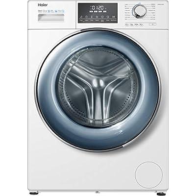 Haier HW80-B14876 Freestanding Washing Machine, 8kg Load, White