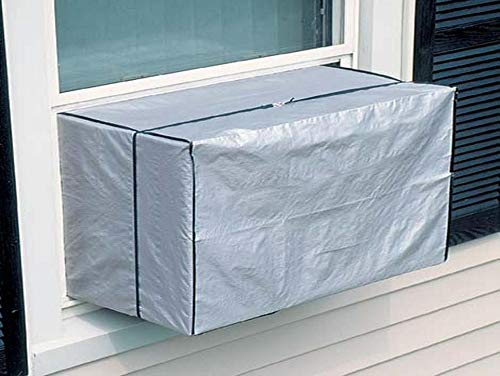 Vinyl Outside Window AC Air Conditioner Cover for Small Units Up to 7,000 BTU