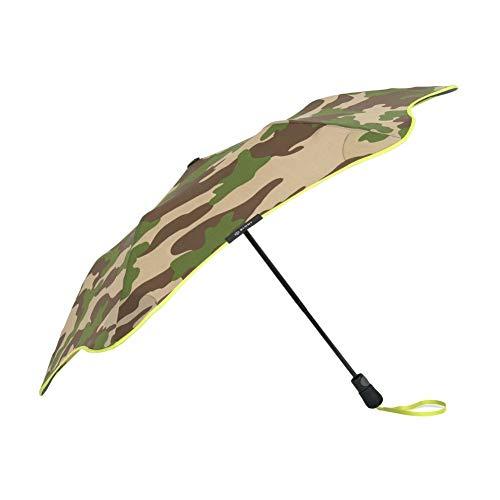 """Blunt Unisex-Regenschirm \""""Metro Einheitsgröße Camouflage/Gelb"""