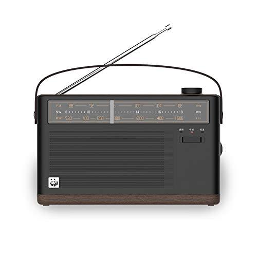 MikeLotus Radio Portatile, FM/MW/SW/DSP, alimentata a Batteria al Litio, processore di Segnale Digitale DSP
