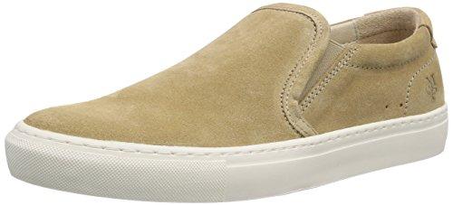 Marc O'Polo Herren Sneaker Slipper, Beige (130 beige), 41