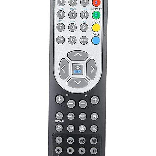 Yuyanshop Mando a distancia Hd Smart Tv Control Remoto Negro Reemplazo Televisión Control Remoto