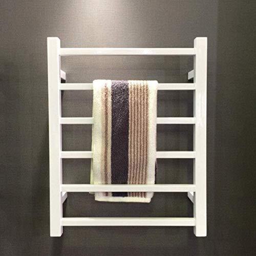 J.SCT-5 Elektrischer Handtuchwärmer mit Thermostat, an der Wand montierter Handtuchwärmer, elektrisches Handtuchhalter-Wandbadezimmer aus Edelstahl