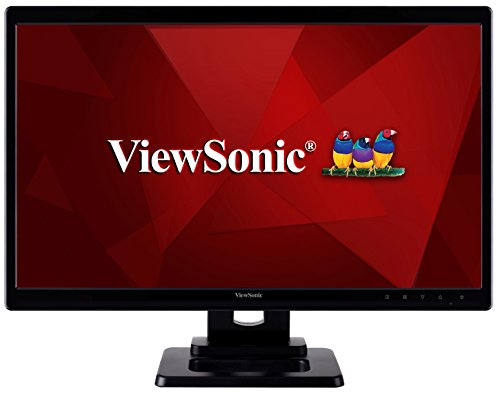 Viewsonic TD2220-2 54,6 cm (22 Zoll) Touch Monitor (Full-HD, USB Hub) Schwarz