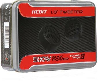 "CERWIN-VEGA 1"" 500W MAX XED Series Tweeter 2 Pair - XED1T"