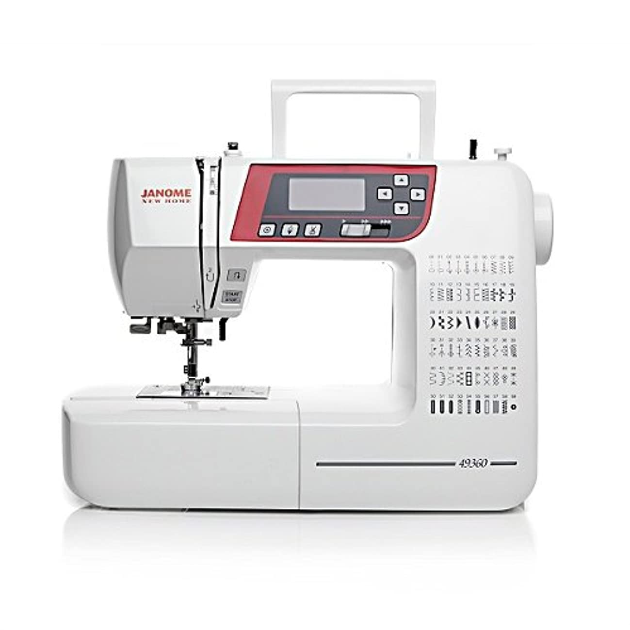 Janome 49360 Computerized Sewing Machine with Thread Cutter