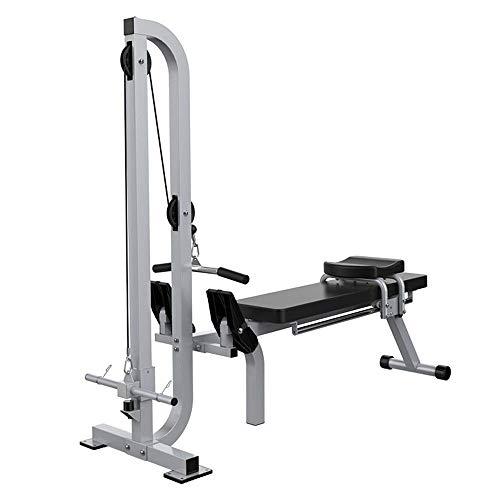 FHISD Rudergerät Verstellbare Hantelbank Home Ruderer Gewicht Bank Trainer Kraft Ganzkörpersport Umfassende Trainingsgeräte Fitness