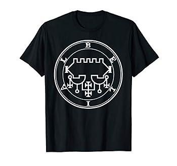 Belial Sigil Bael Lesser Key Seal of Belial Occult Symbol T-Shirt