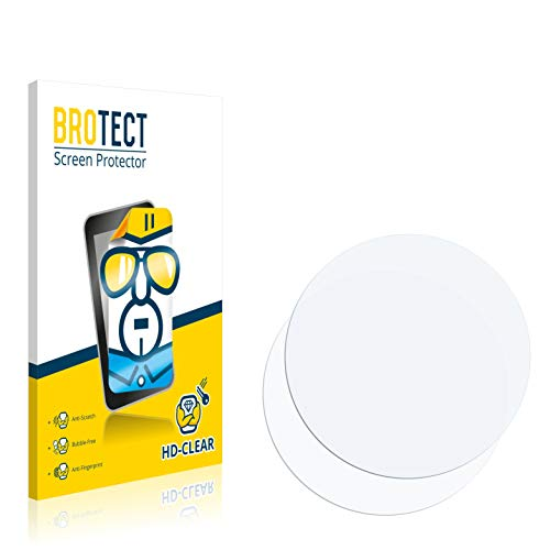 BROTECT Schutzfolie kompatibel mit Fossil Q Venture (3.Gen) (2 Stück) klare Bildschirmschutz-Folie