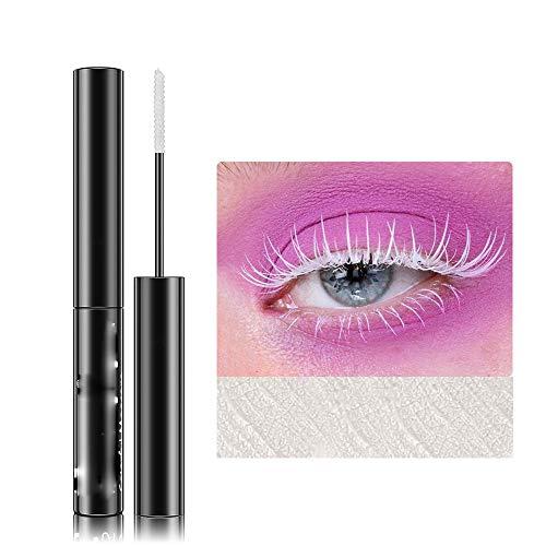 QINGHE Color Rimel, Rimel 3D resistente al agua, Rimel colorido, Rimel voluminoso de larga duración, Gel alargador de pestañas para maquillaje de ojos