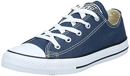 TOMS unisex child Espadrille Sneaker, Navy, 13 Big Kid US