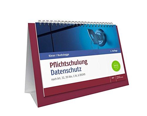 Pflichtschulung Datenschutz: nach Art.32, 39 Abs. 1 lit. b DSGVO