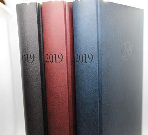 Stylex Buchkalender für 2019 blau A5
