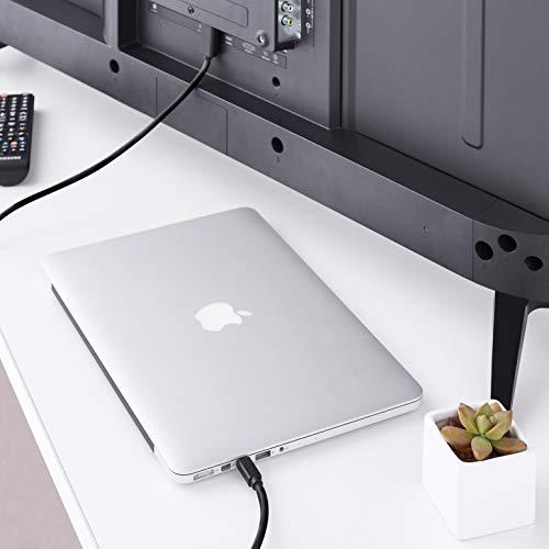 AmazonBasics Mini DisplayPort to HDMI Display Adapter Cable - 6 Feet