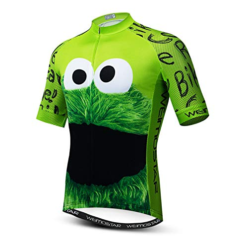 Weimostar USA Radtrikot Herren Herren MTB Rennrad Shirt Sommer Bike Tops Kurzarm Fahrradbekleidung Sportbekleidung