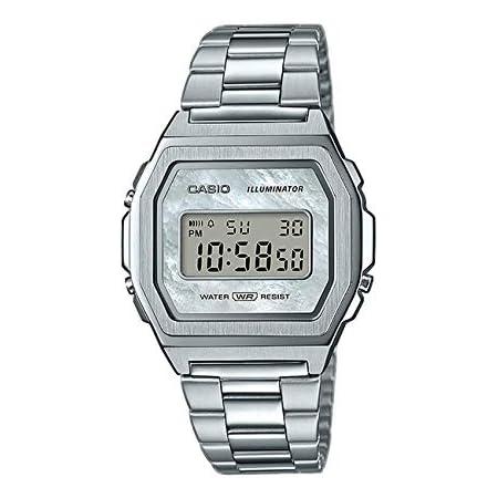 並行輸入品 CASIO カシオ スタンダード ヴィンテージ プレミアム A1000D-7 腕時計 レディース キッズ 子供 男の子 女の子 チープカシオ チプカシ アナログ シルバー シェル 海外モデル [並行輸入品]
