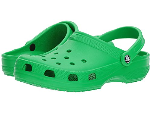 Crocs Unisex-Kinder Classic Flip Flipflop, grasgrün, 24 EU