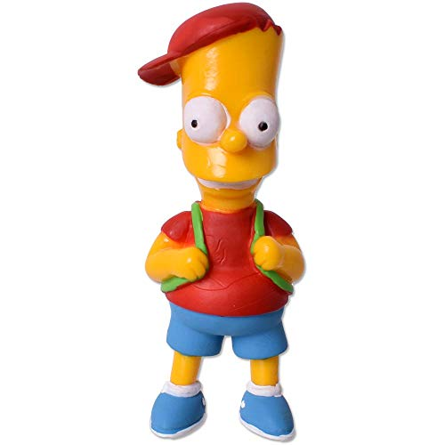 TE-Trend The Simpsons Figuras Springfield Limited Edition Series 3 coleccionistas Toy Bart Simpson 80 mm Multicolor