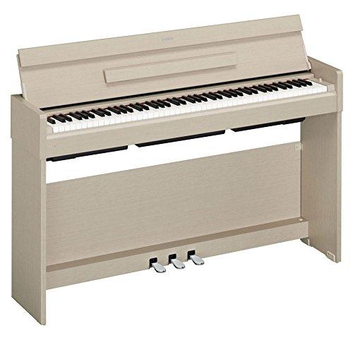 Yamaha Arius Digital Piano YDP-S34WA, weiße Esche – Modernes E-Klavier mit Hammermechanik, Konzertflügel-Klang & USB-to-Host-Anschluss – Kompatibel mit kostenloser App