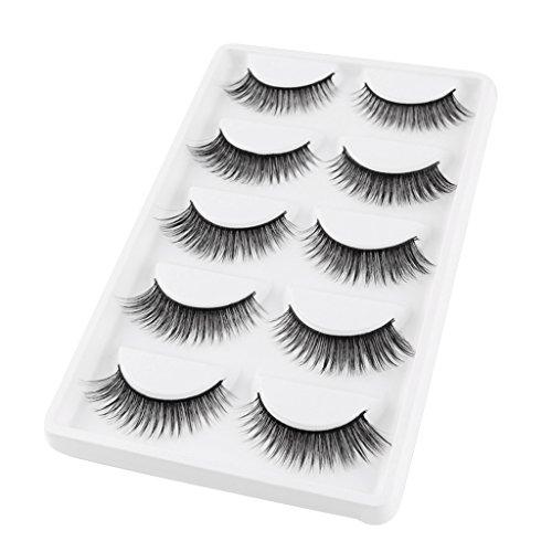Bonarty Magnetische Künstliche Wimpern Wimpernverlängerung Eyelashes Augen Makeup