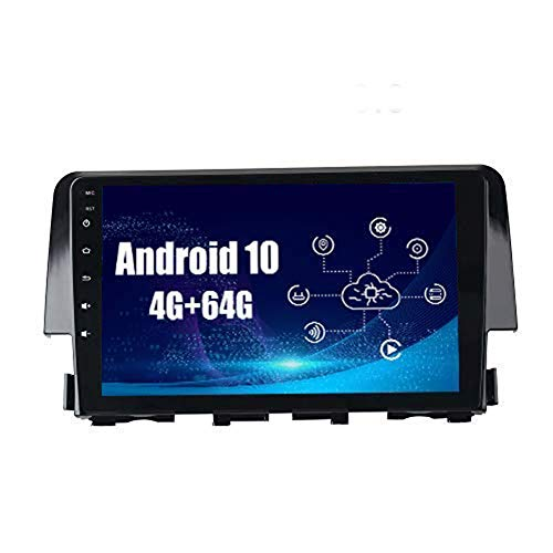 SYGAV 2 Double Din Android 10 Car Stereo 10.2 Rotatable Screen 4G+64G Radio with GPS Navigation Built in DSP and CarPlay Dash Kit