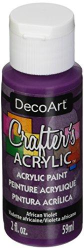 Artdeco DecoArt 59ml Crafters acrílico, Violeta Africana