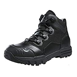 ANTARCTICA Leather Military Tactical Boots