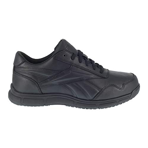 Reebok Work Womens Jorie LT Slip Resistant Soft Toe EH Shoes Casual Work & Safety Shoes, Black, 10.5