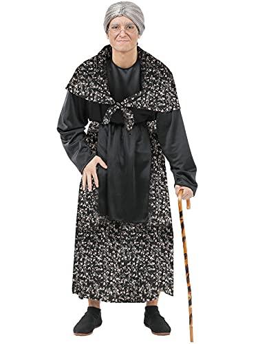 DISBACANAL Disfraz de Abuela Vieja - M