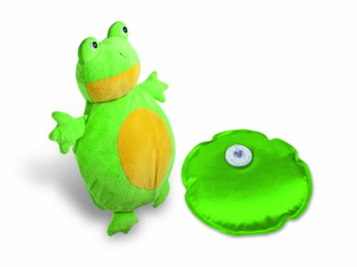 MACOM Enjoy & Relax 907 La Boule Froggy Ricaricabile Senza Fili Con Simpatica E Morbidissima Copertura A Forma Di Rana