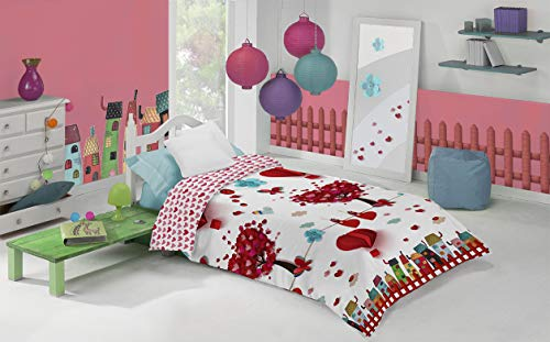 Funda nórdica infantil Manterol Decora Junior 593 cama de 90