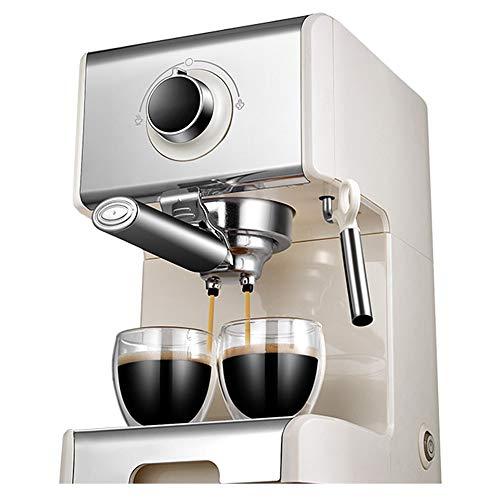 Volautomatische Koffiemachine, 1,2 Liter Watertank Met Grote Capaciteit, Onafhankelijke Temperatuurregeling, 20 Bar Hogedruk,White