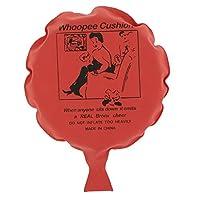 #N/A ノベルティブーブークッションおならフーピージョークいたずらギャグトリックウーピーバルーンおもちゃ - 赤, 16センチメートル
