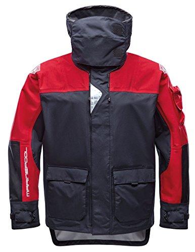 Marinepool Herren Segeljacke Pacific Ocean Jacket, red/Black, L