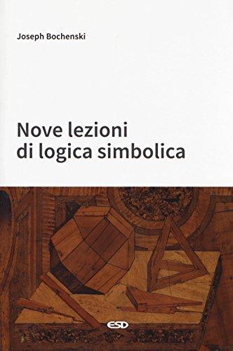 Nove lezioni di logica simbolica
