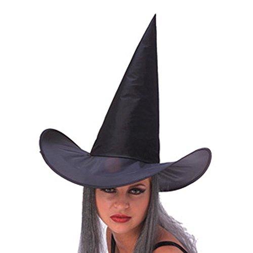 WITCH HAT W/GREY HAIR