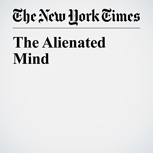 The Alienated Mind audiobook cover art