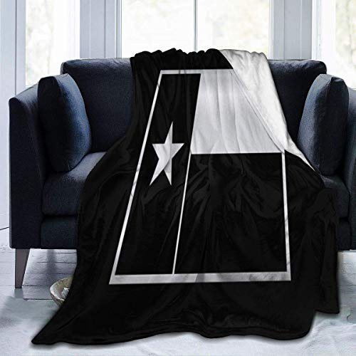 W-wishes More Texas Flag Throw Flannel Fleece Blanket,Soft Warm Fluffy Plush Blanket For Bed Couch Chair Living Room,50'x60'