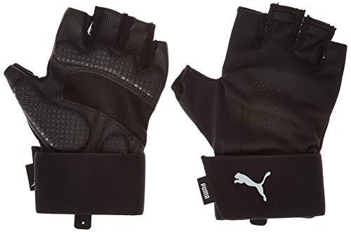 PUMA Training Herren Essential Premium Handschuhe Puma Black-Gray Violet M