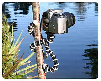 Tygot 13 inch Flexible Gorillapod Tripod with Mobile Attachment for DSLR, Action Cameras & Smartphones