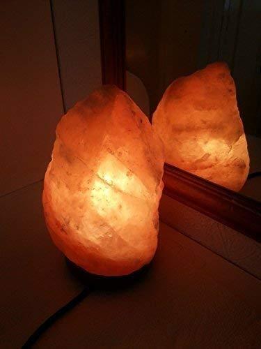 Sal Cristalina Del Himalaya Lámpara 3-4Kg con Te Claro
