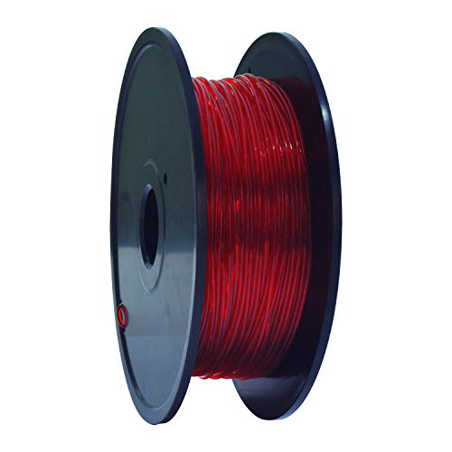 GEEETECH TPU Flexible filament 1.75mm Red, 3D Printer Filament 400g 1 Spool