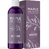Maple Holistics La vitamina Shampoo per la perdita di forfora + Hair - anti forfora Sulfate trattamento gratuito per un sano cuoio capelluto + crescita dei capelli - Anti-Aging Damage Repair Con Sage - alleviare il prurito sfaldamento Dry Skin + diradamento dei capelli