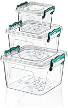 Set 3Pcs Food Storage By Hobby Life, Clear