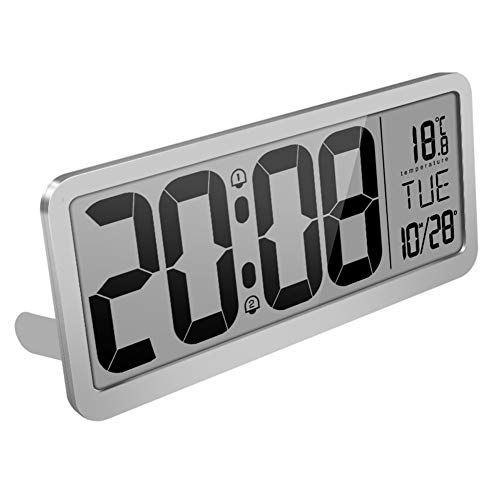 CQ LCD Digital Wecker Musik Klingelton Bedside Alarm Schlummern 98247