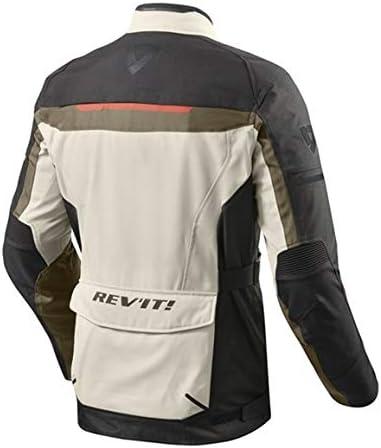 Rev It Motorradjacke Mit Protektoren Motorrad Jacke Safari 3 Textiljacke Herren Enduro Reiseenduro Ganzjährig Bekleidung