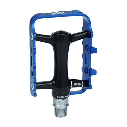 NC-17 Trekking Pro Flat Fahrrad Pedal schwarz/blau