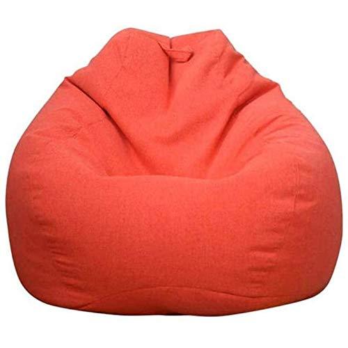 WLYX Funda De Sofá Perezosa Extraíble, Sofá Puf, Funda De Forro Extraíble Y Lavable Informal, Sillones Puf para Interior Y Exterior (Color : #-4, Size : L-80 * 90cm)