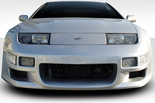 Brightt Duraflex ED-GSQ-316 Type G Front Bumper - 1 Piece Body Kit - Compatible With 300ZX 1990-1996